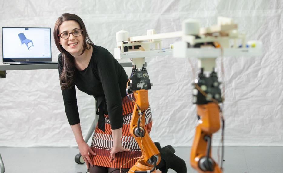 Роботы-столяры изготавливают мебель под заказ (видео)