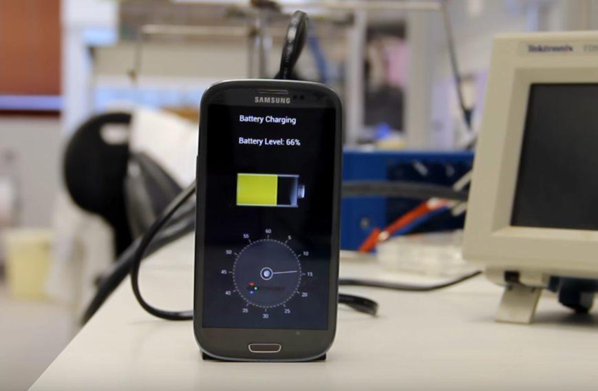 Минизарядка для смартфона