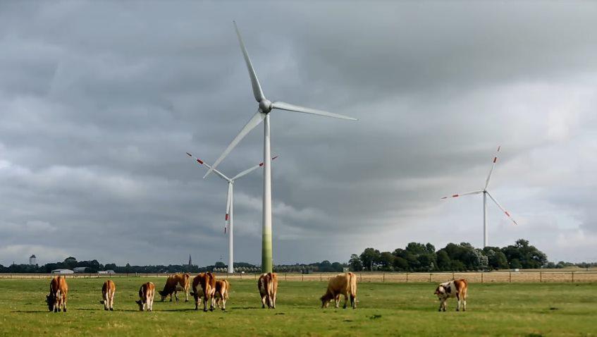Европа ставит новый рекорд использования ветровой энергетики