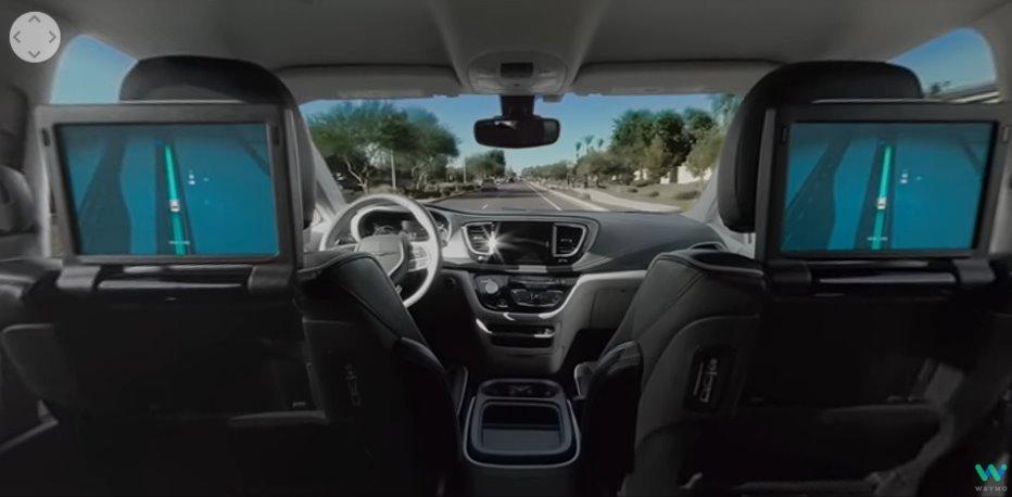 Роботизированное такси видео