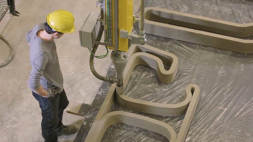 3д-печать бетоном