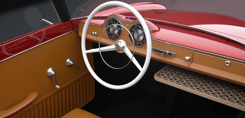 Трехколесный ретро-электромобиль: разработка эстонских умельцев
