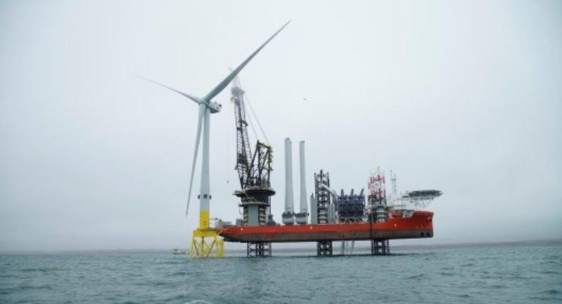 Самая мощная ветровая турбина в мире