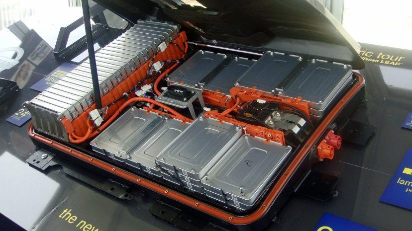 Восстановленная батарея электромобиля Nissan
