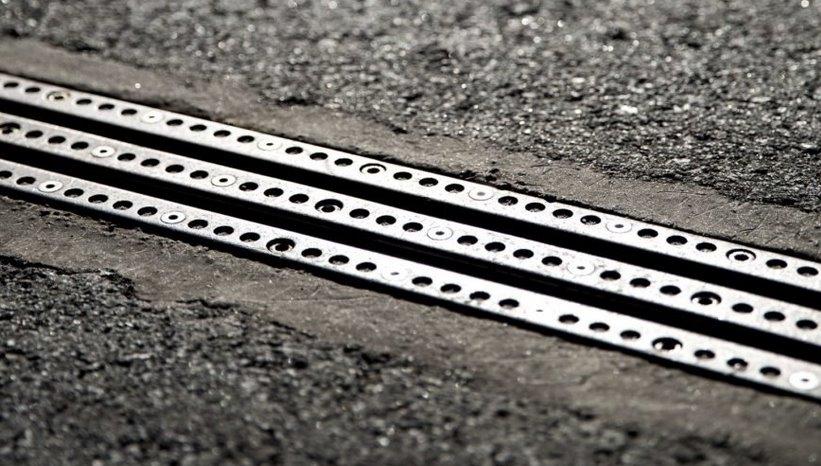 Дорога для зарядки электромобилей