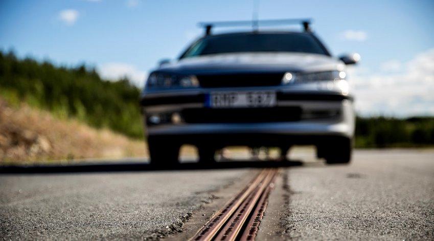 Электродорога для подзарядки автомобилей