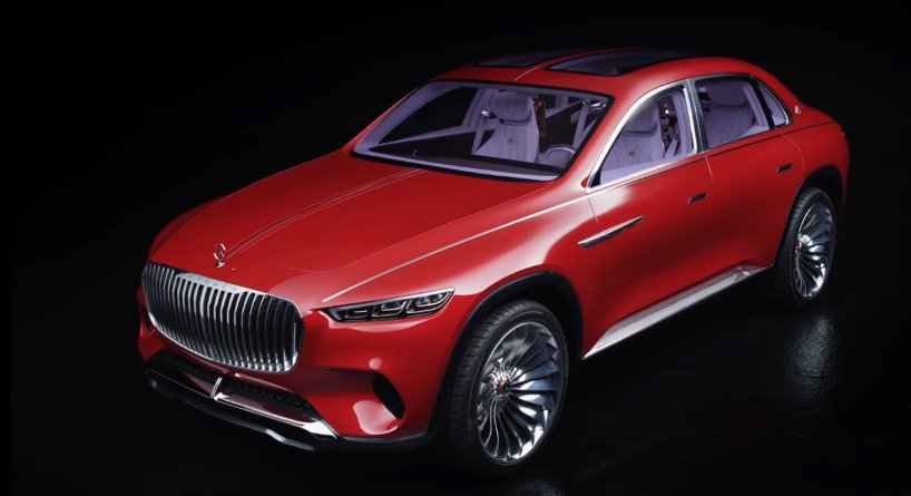 Электромобиль The Vision Mercedes-Maybach Ultimate Luxury