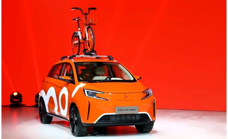 Доступный китайский электромобиль с подключением к интернету