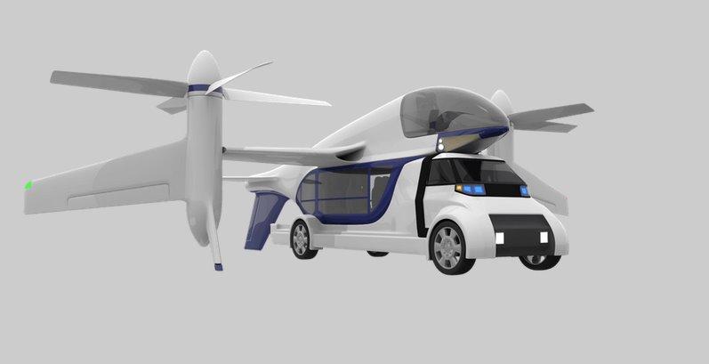 TF2 – это концепт гибридного такси (5 фото + видео)