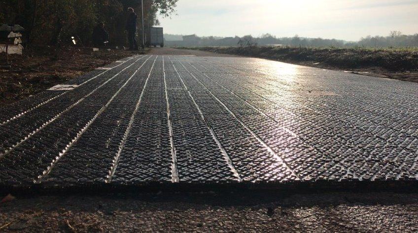 В Германии открыли первую дорогу на солнечных батареях