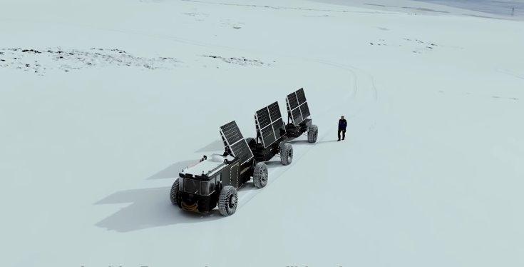 Вездеход на электротяге Solar Voyager
