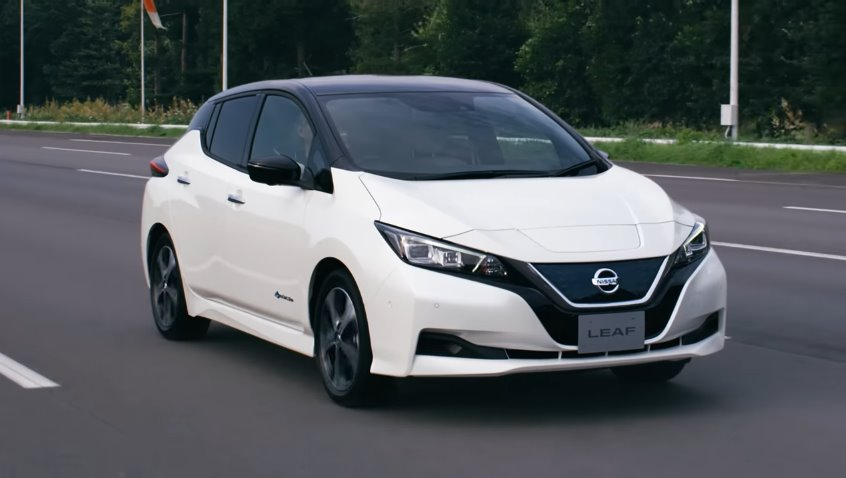 Nissan LEAF возглавляет рейтинги продаж в Европе