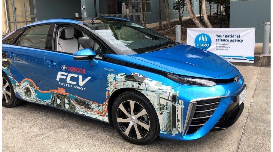 Водород из аммиака сделает авто на топливных элементах более доступными