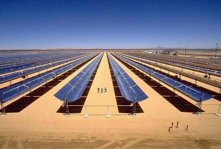 Крупные СЭС и ВЭС в Сахаре принесут в пустыню дожди и богатую флору