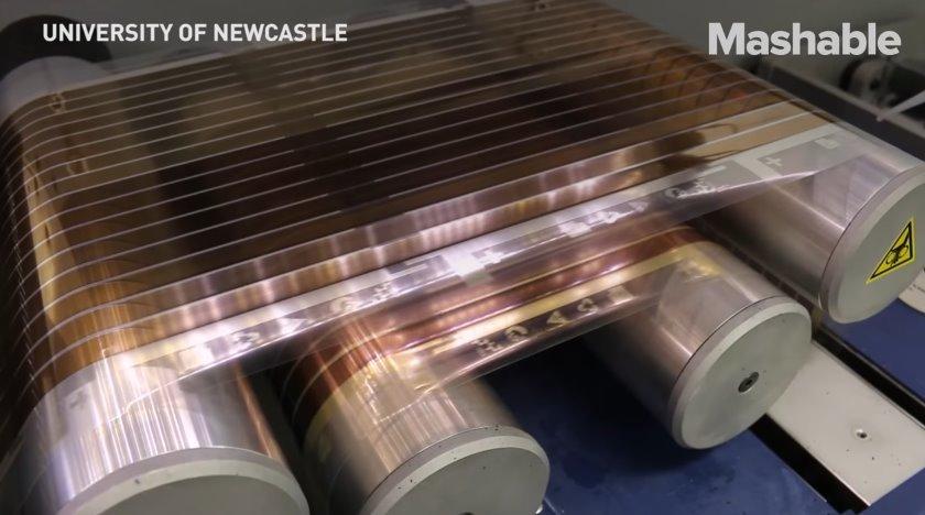 Дешевые солнечные панели на основе печатных фотополимеров сделают чистую энергию доступной для всех