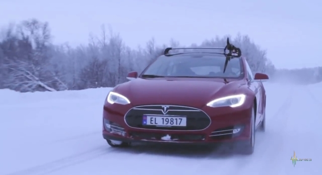 tesla modes s in norway