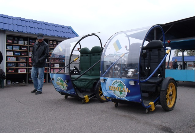 компактный украинский электромобиль