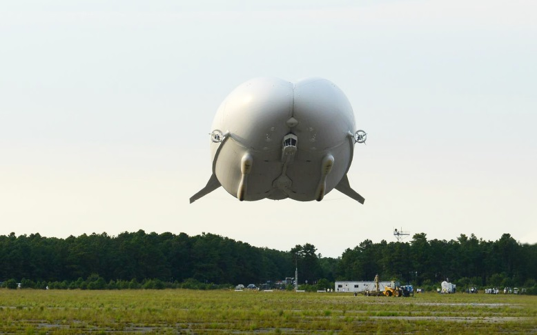 Airlander Assembly Complete