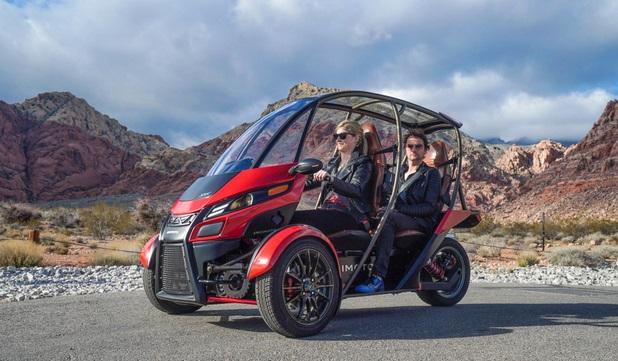 Arcimoto SRK: гибрид мотоцикла и мини-автомобиля