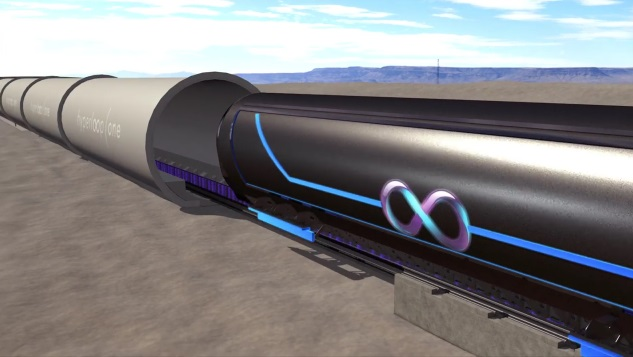 Hyperloop One успешно испытала силовую установку