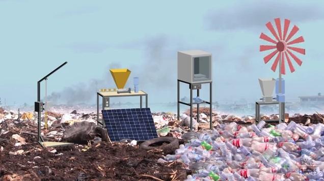 Як самостійно переробити пластик