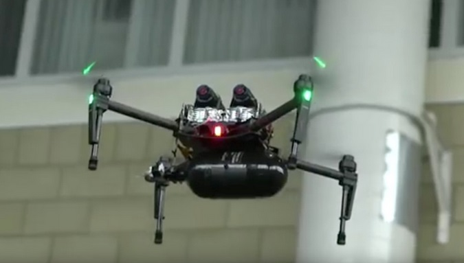 Intelligent Energy Hydrogen Fuel Cells Drone