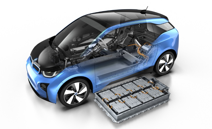 BMW i3 electric car 2017
