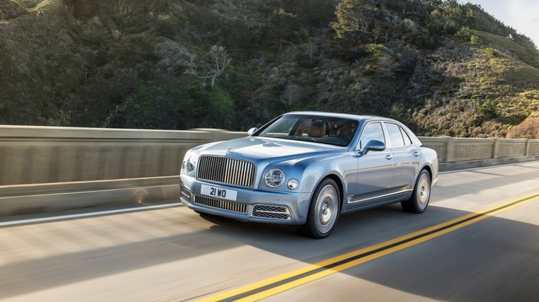 Электрокар Bentley Mulssanne