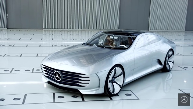 Mercedes-Benz electric concept IAA