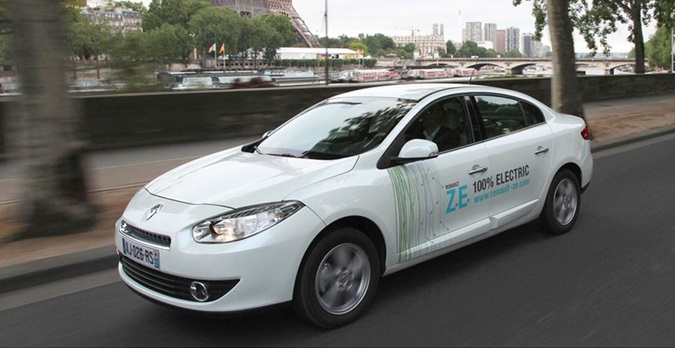 Электромобиль Renault Fluence ZE electric