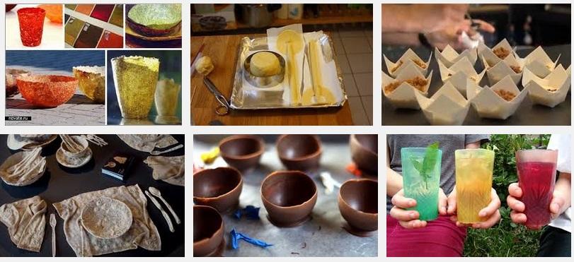 Съедобная посуда как сделать самому