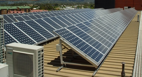 Солнечные батареи монтаж  видео