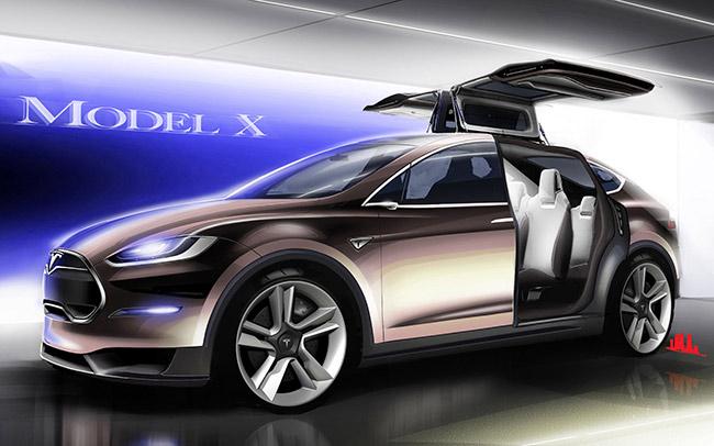 электромобиль tesla model х